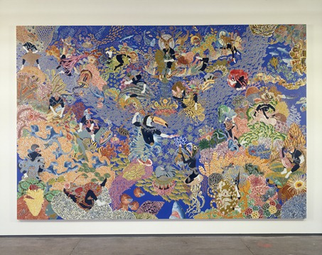 Raqib shaw The Garden of Earthly Delights III 2003 a4 3