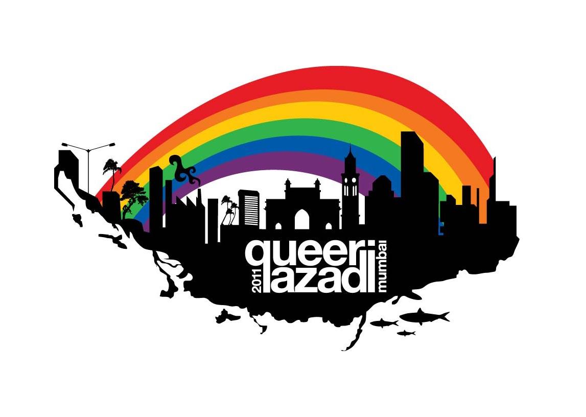 QAM 2011 logo white1 Queer Azadi Mumbai 2011 : Make A Difference