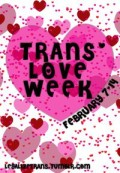 Trans* Love Week
