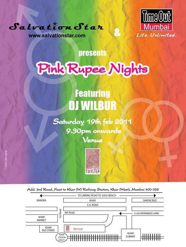 Pink Rupee Nights with DJ Wilbur