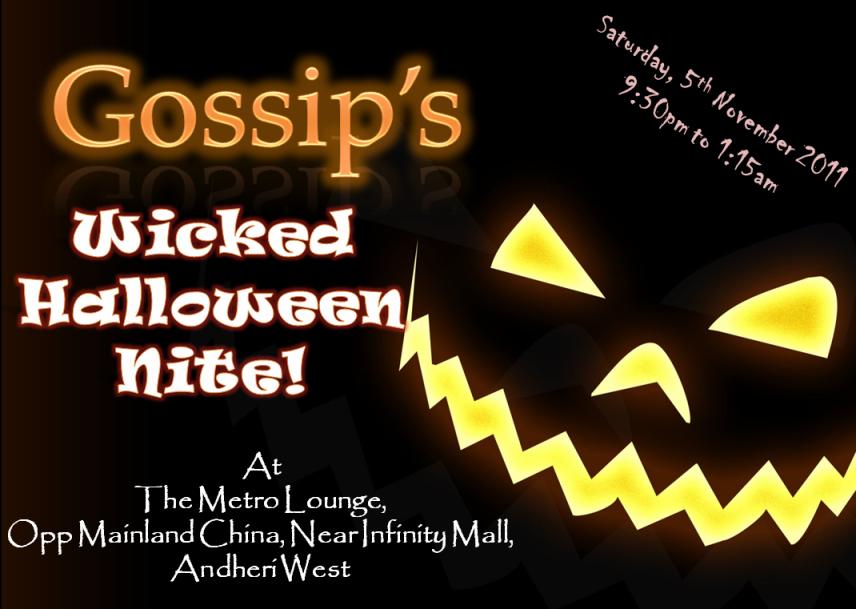 Gossip's Wicked Halloween Night