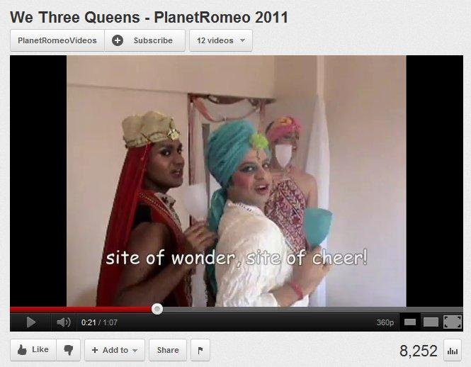 India's Entry Can Win Planet Romeo's Ho Ho Ho-Mo Video Contest