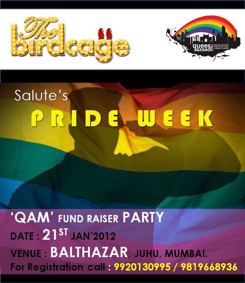 The Birdcage : QAM 2012 Fund Raiser Party