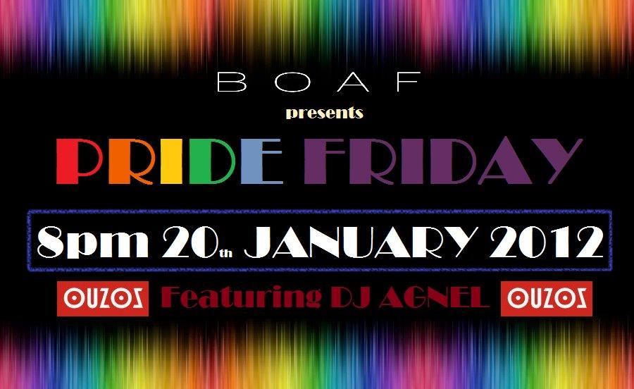 BOAF Presents Pride Friday