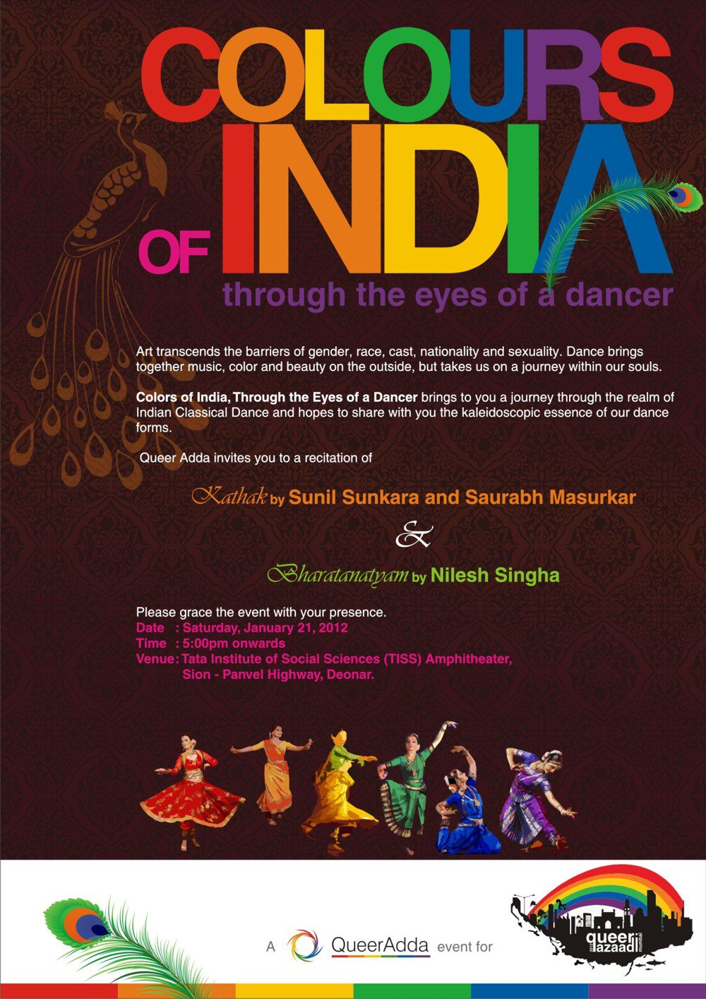 Colours Of India : QAM 2012 Opening Event