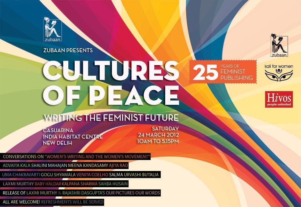 Cultures Of Peace : Writing the Feminist Future