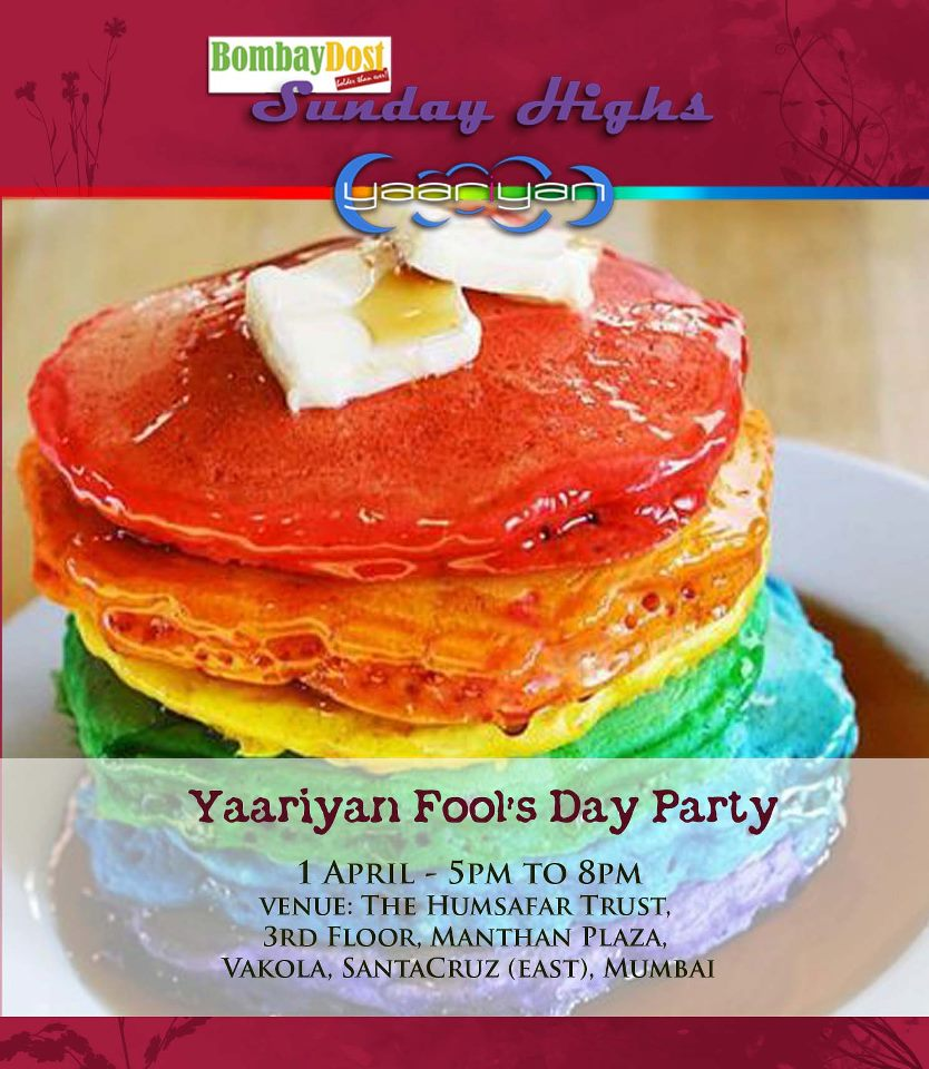 Yaariyan's Fools Day Party on Sunday, 1st April 2012 (Pot Luck and Games)