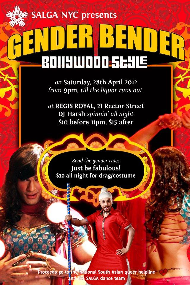 Salga Presents : Gender Bender, Bollywood Style!