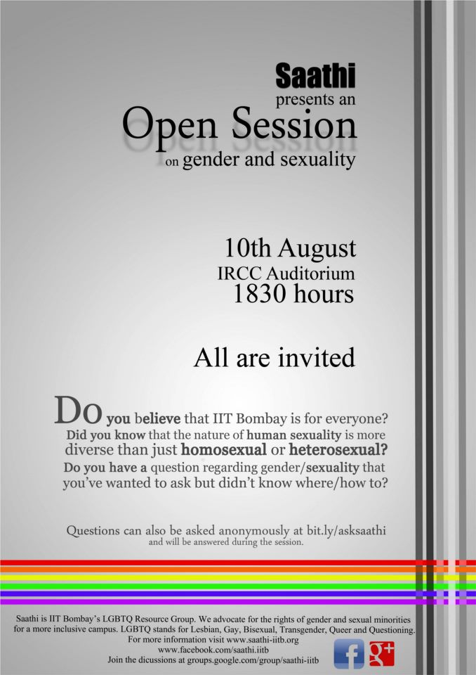 Open Session On Gender & Sexuality