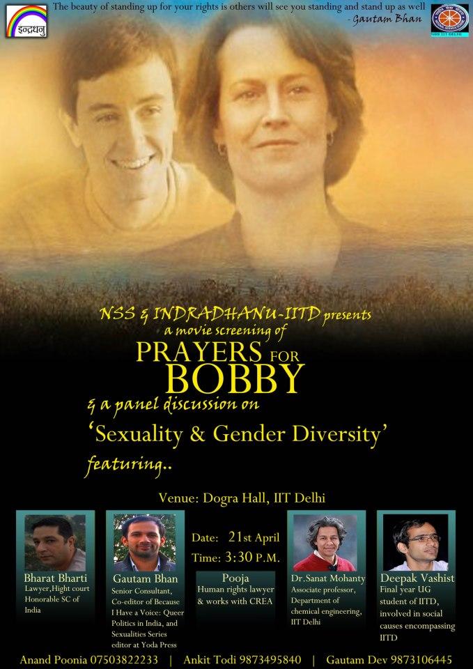 Film Screening : Prayer For Bobby