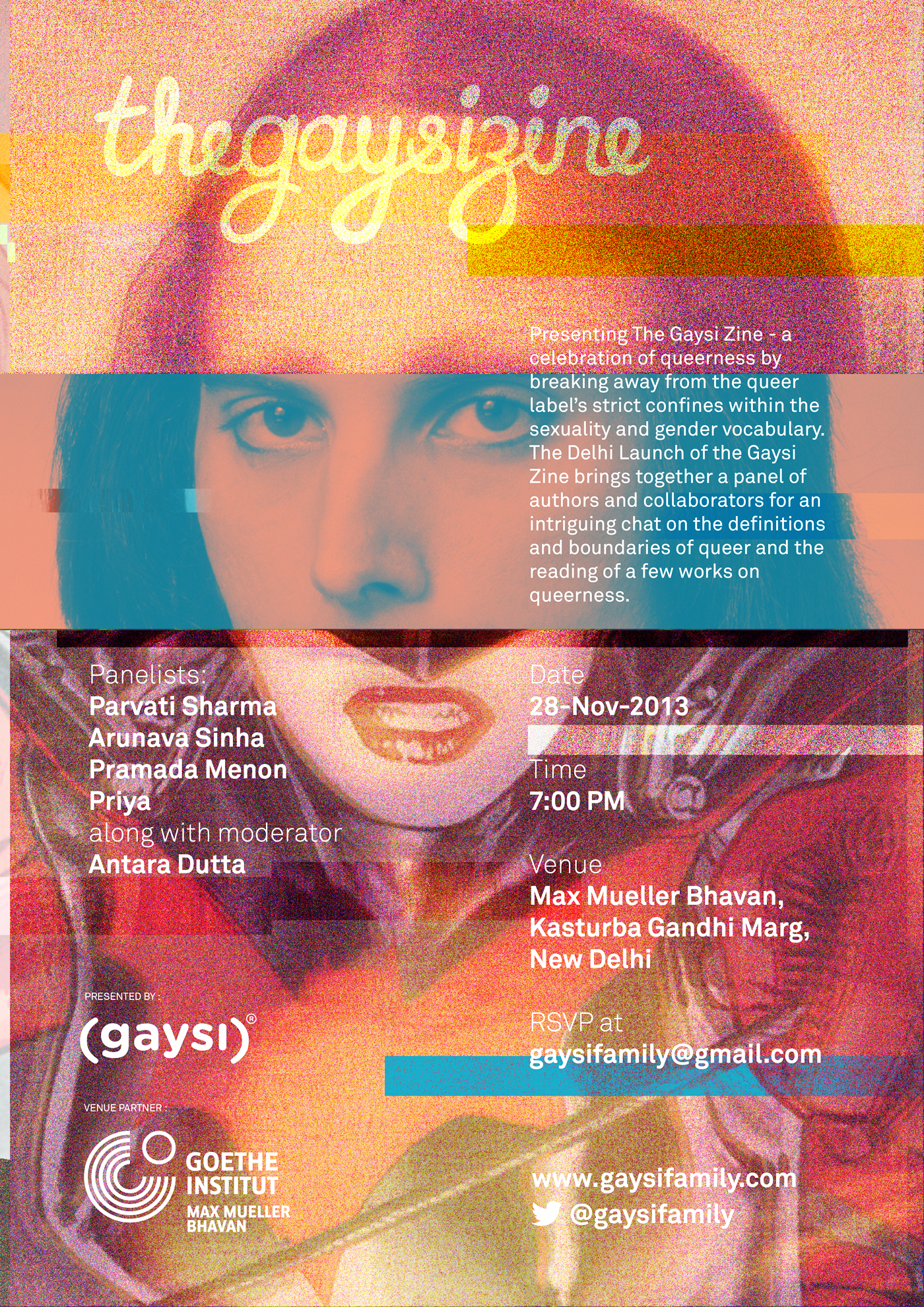 Launch of The Gaysi Zine in New Delhi on 28th Nov, 2013