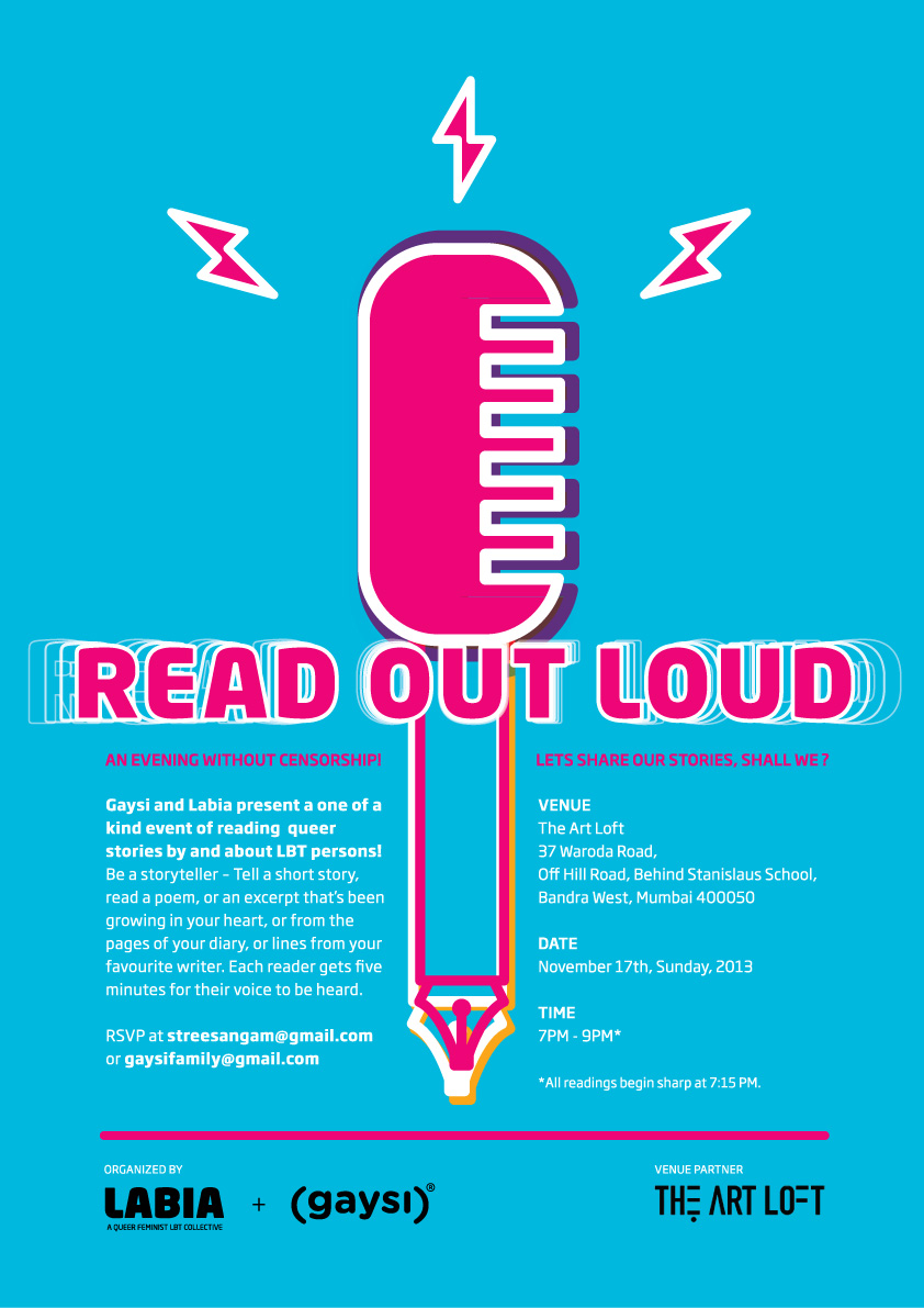 Gaysi & Labia Present Read Out Loud!