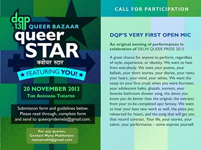 Delhi Queer Bazaar & Open Mic