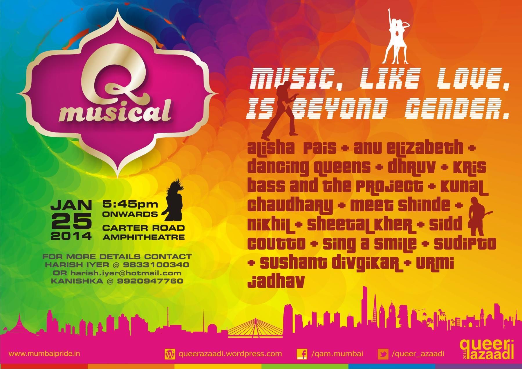 The Q Musical : Saturday, 25th January (Mumbai)