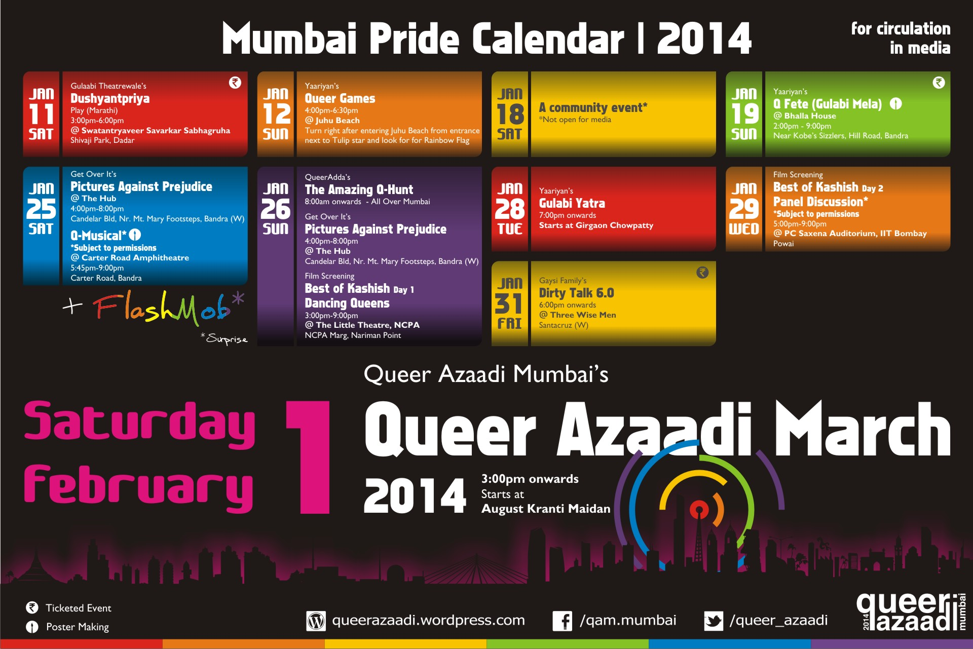 What Is Happening This Month For Mumbai Pride 2014?