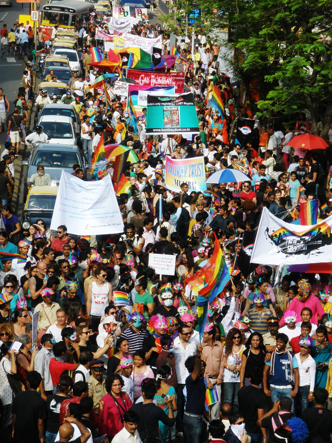 When An Out Of Towner Experienced Queer Azaadi March