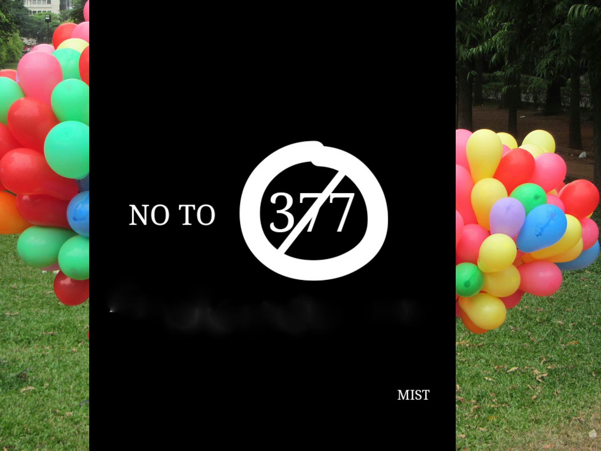 Indian Coming Out Day : No To 377