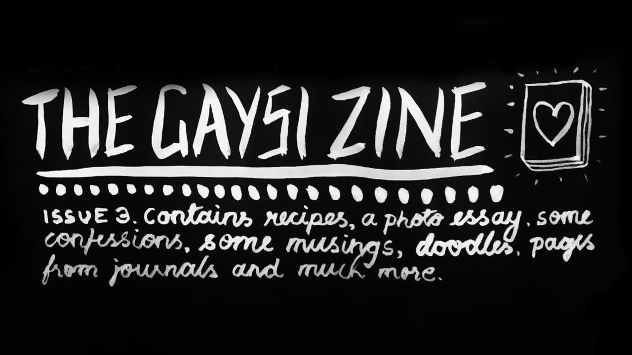 The Gaysi Zine Crowdfunding Update