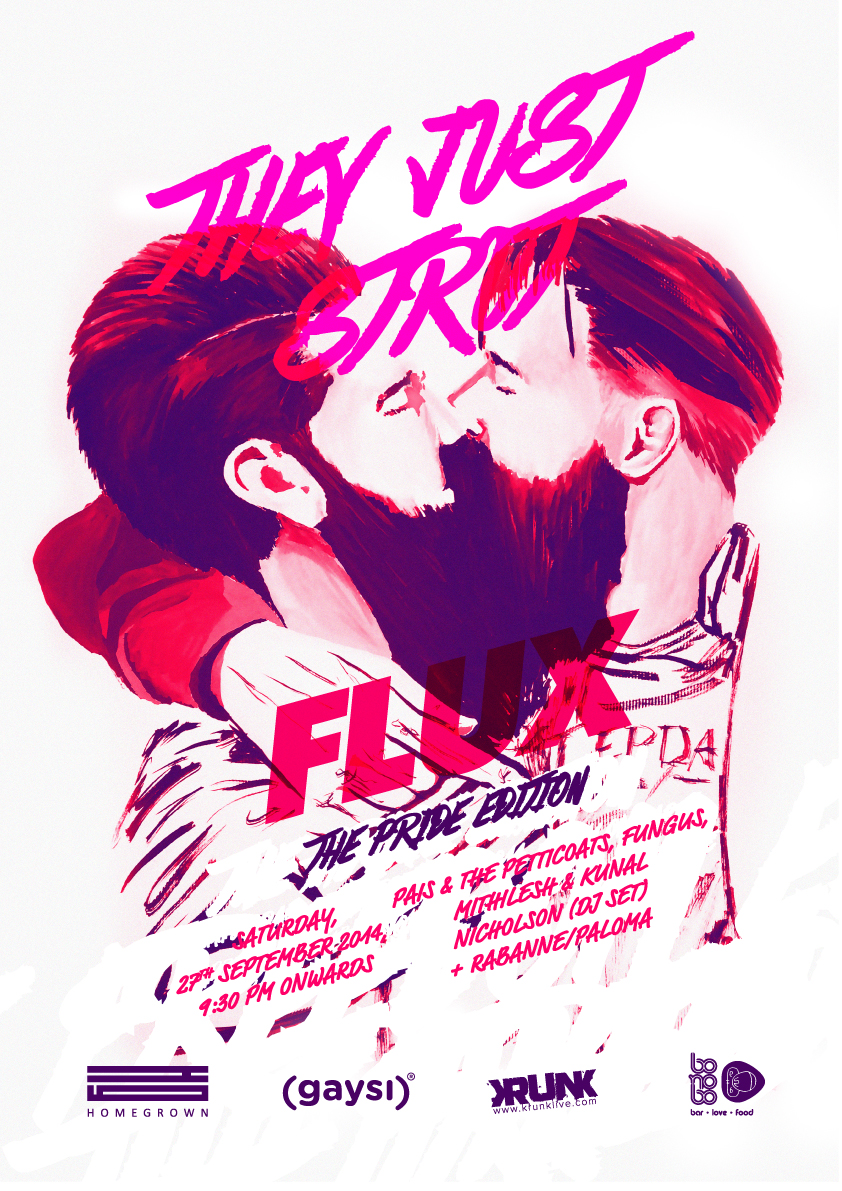"""Gaysi & Homegrown Present """"What The Flux?"""""""