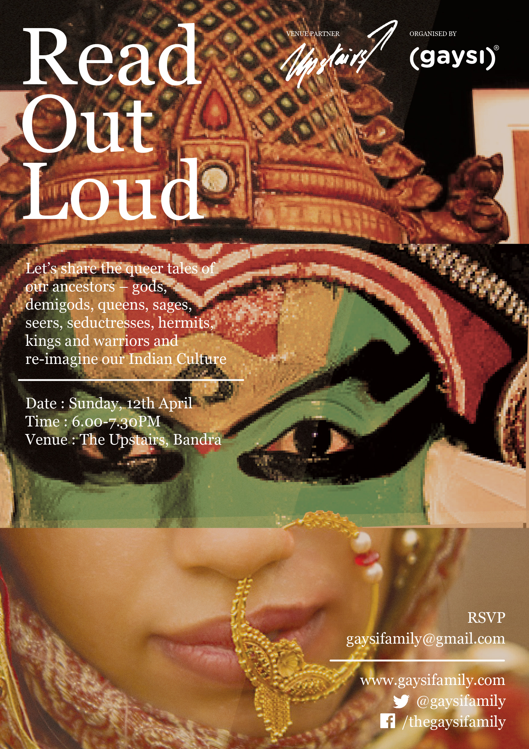 Event : Read Out Loud, Queering Mythology