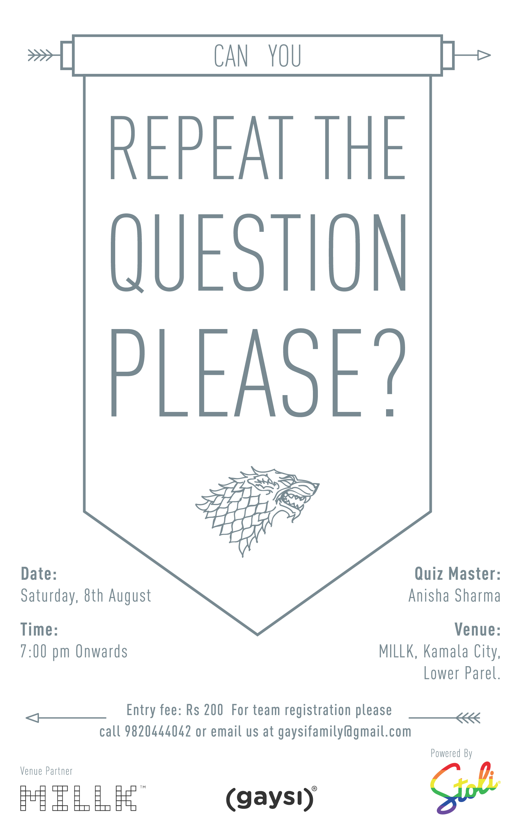 Gaysi Presents Queer Trivia Night On 8th Of August