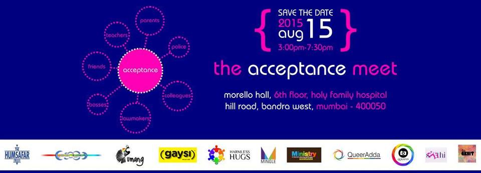 The Acceptance Meet : 15th August, 2015