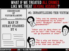 #1 Infantilising The Victim