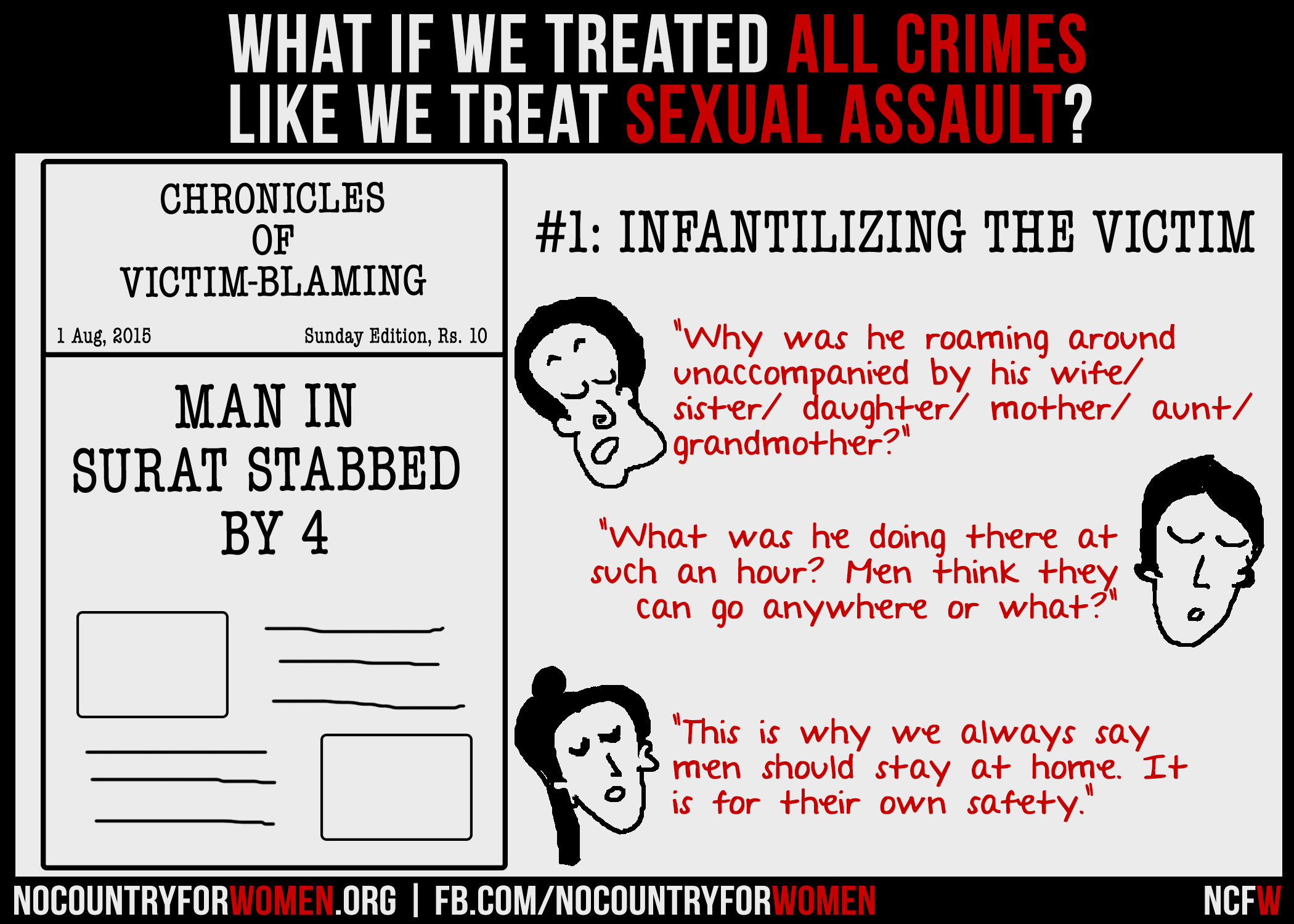 What If We Treated All Crimes Like We Treat Sexual Assault?