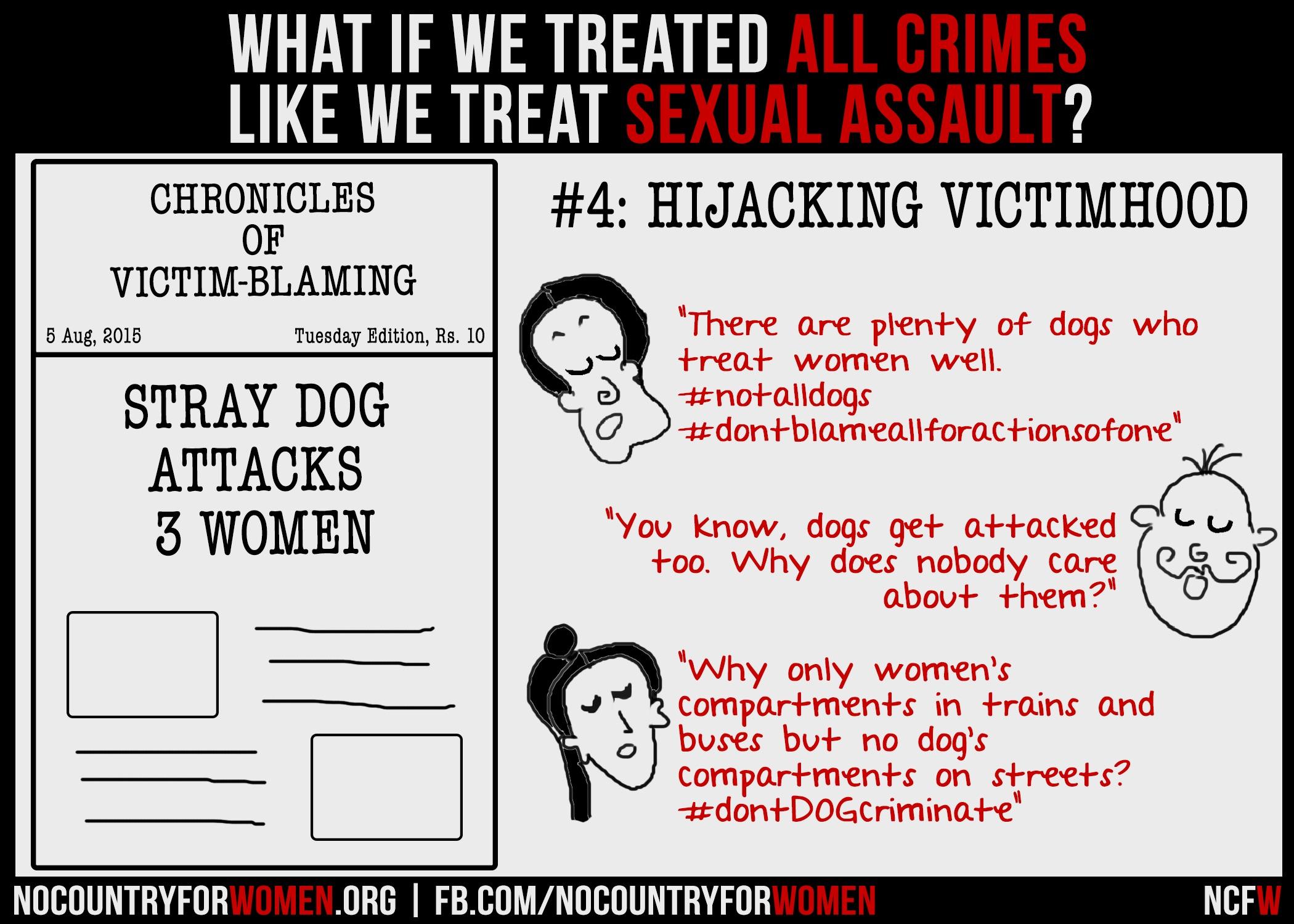 #4 Hijacking Victimhood