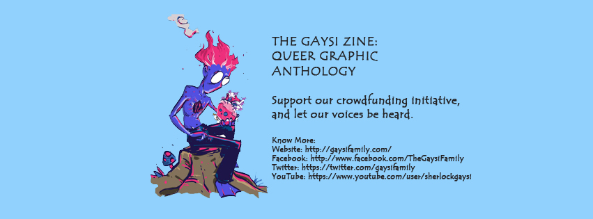 """Support """"The Gaysi Zine – Queer Graphic Anthology"""""""