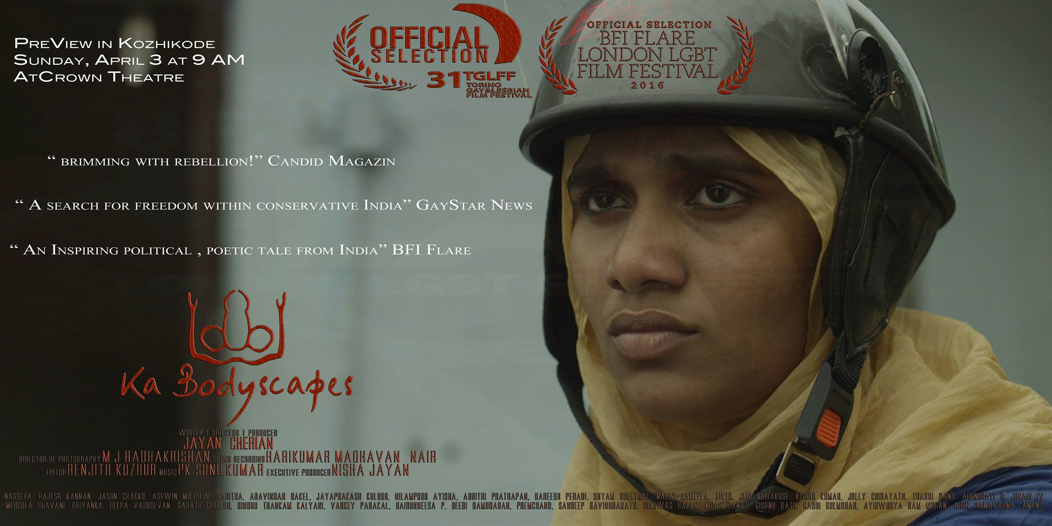 """Film """"KaBodyscapes"""", Kerala Preview"""
