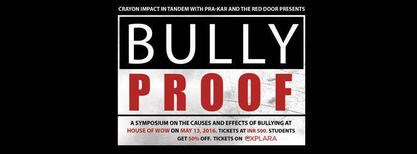 Bully Proof – Screening, Dialogue and Spoken Word