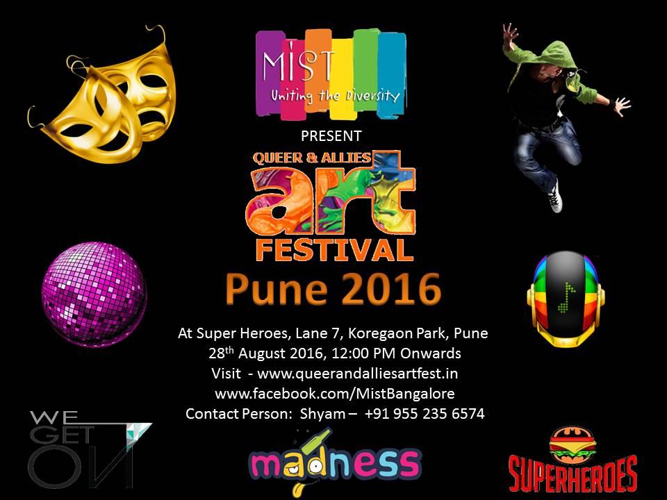 Queer & Allies Art Festival (QAAF) Pune 2016