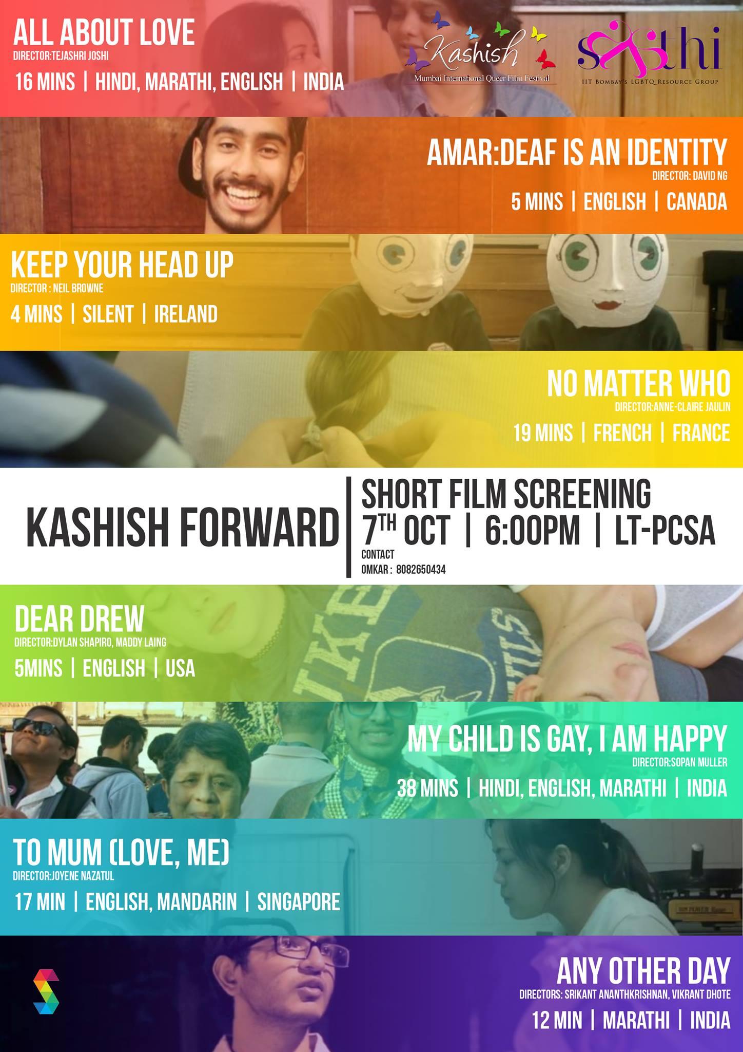 Kashish Forward (Film Screening) At IIT Powai