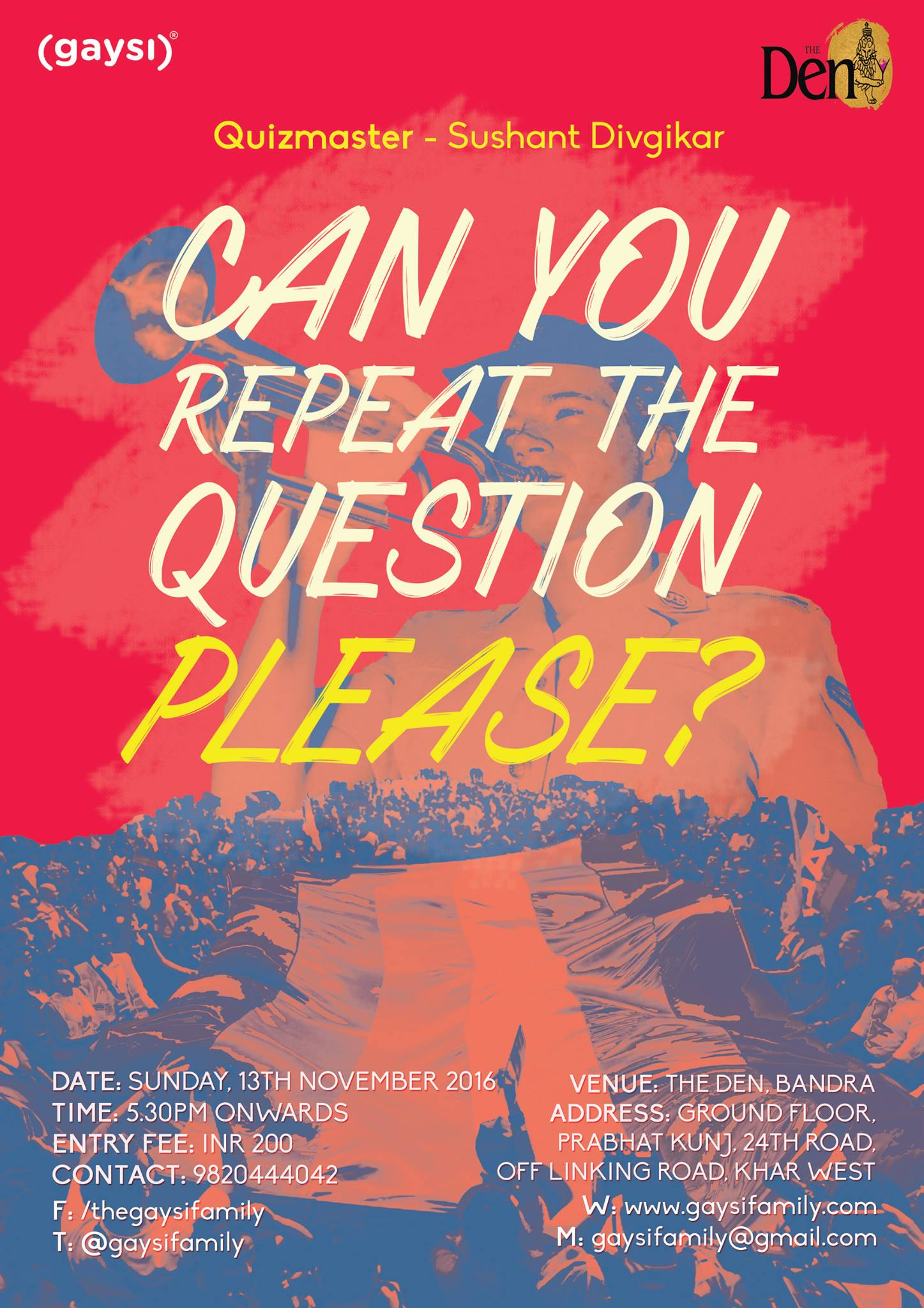 LGBTQ Trivia Sunday: Can You Repeat The Question Please?
