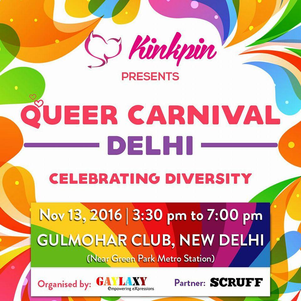 Kinkpin Presents Queer Carnival Delhi