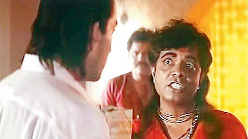Actor Sadashiv Amrapurkar in film Sadak (1991)