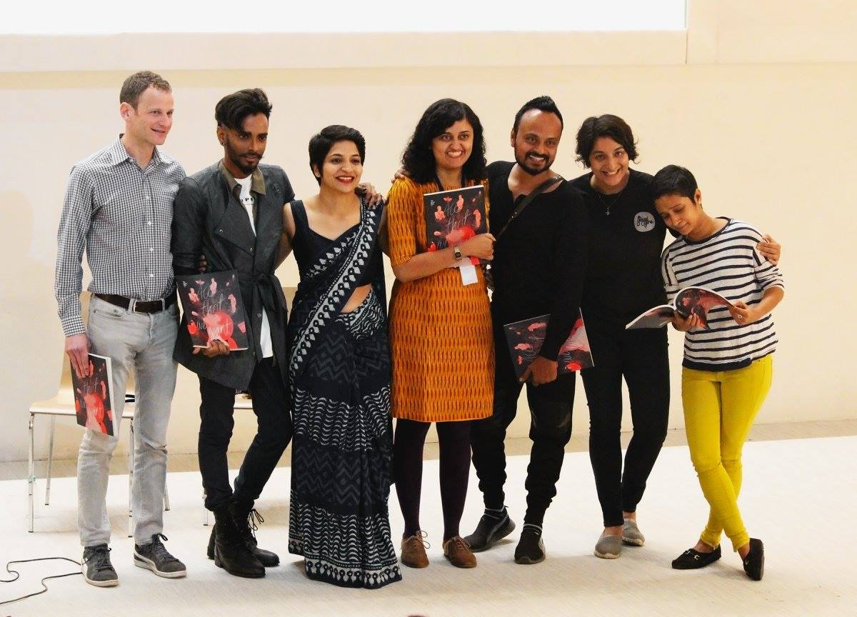 The Gaysi Zine Issue 5 release at Godrej India Culture Lab as part of Mumbai Pride month.