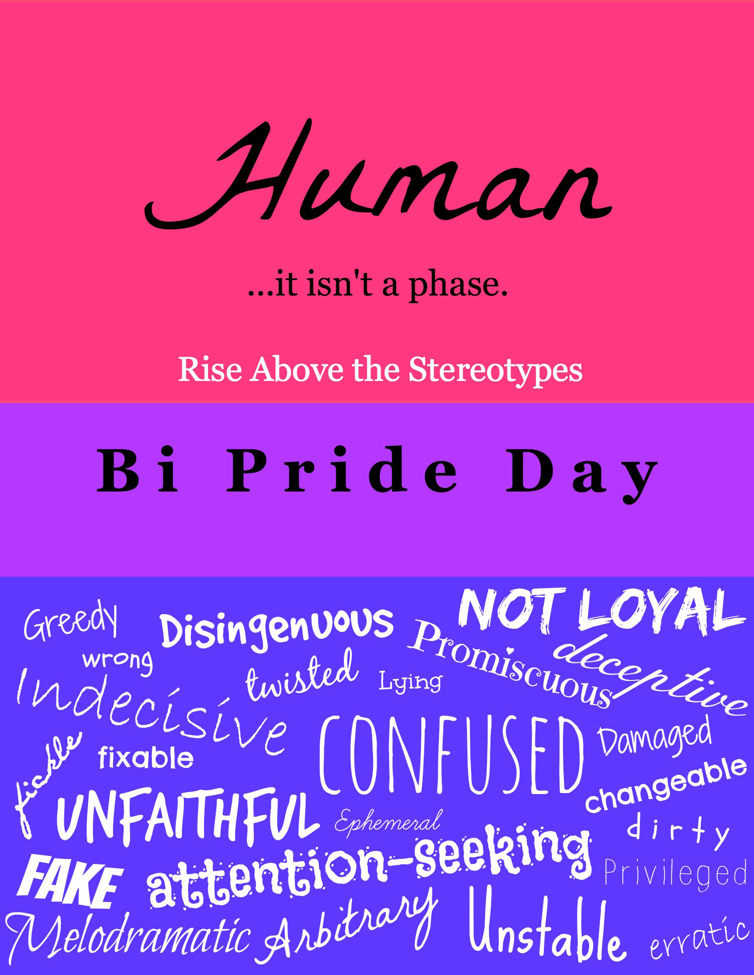 Bisexuality And Other Whims