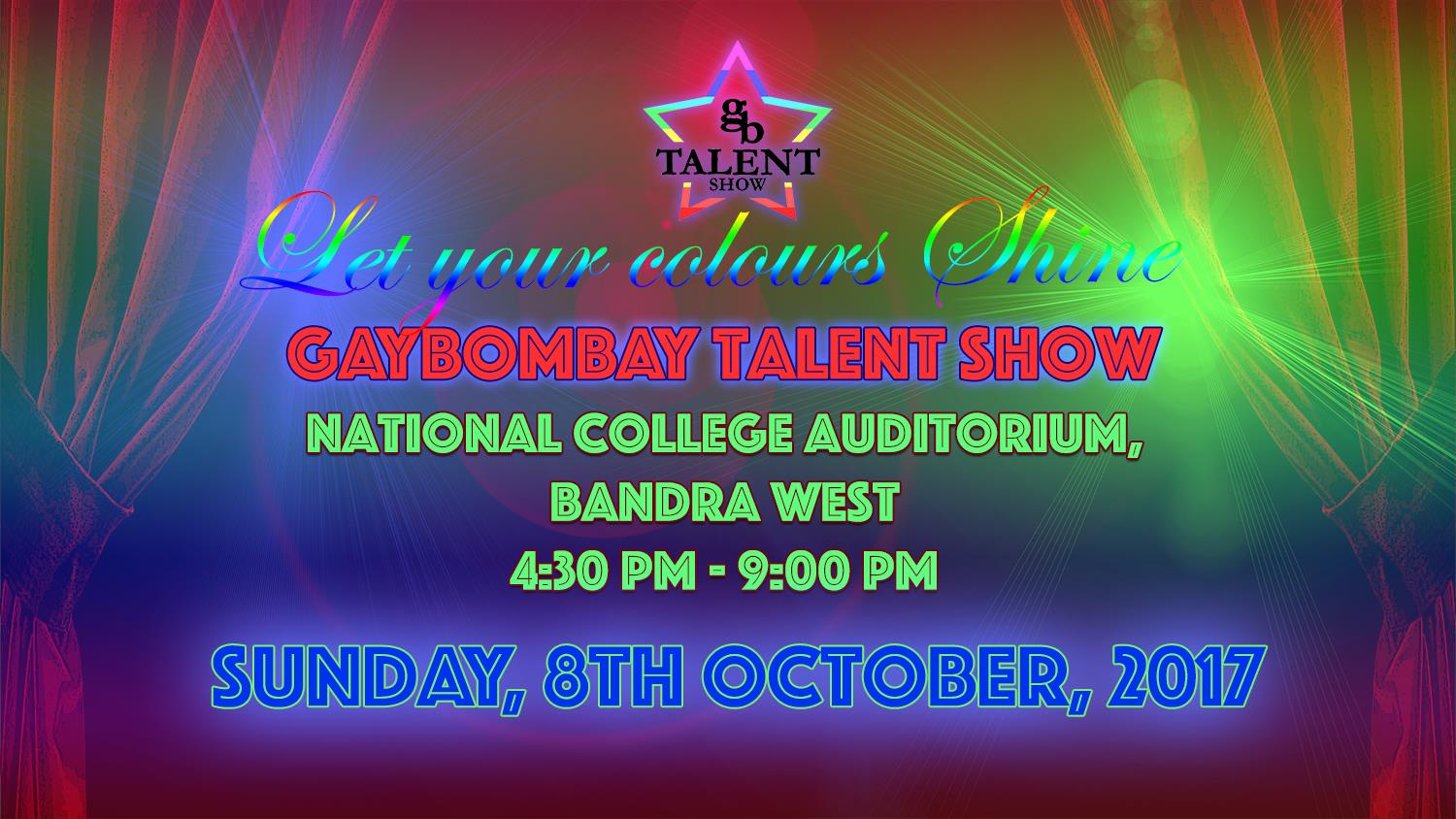 So You Think You Have Talent? Check Out The 2017 Gay Bombay Talent Show!
