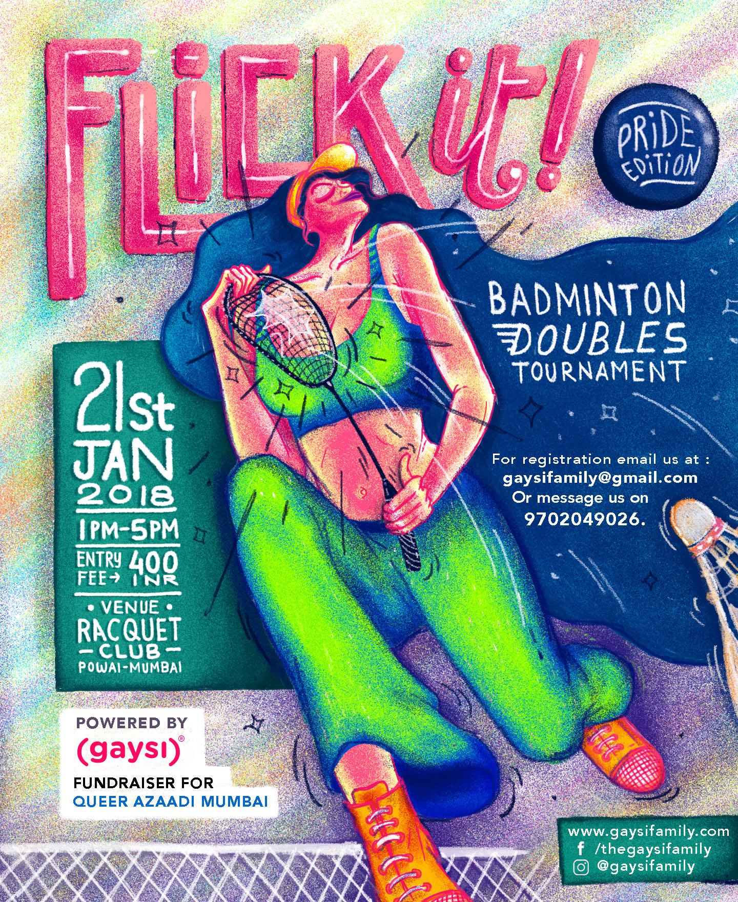 Flick It! (Pride Edition) – Badminton Doubles Tournament