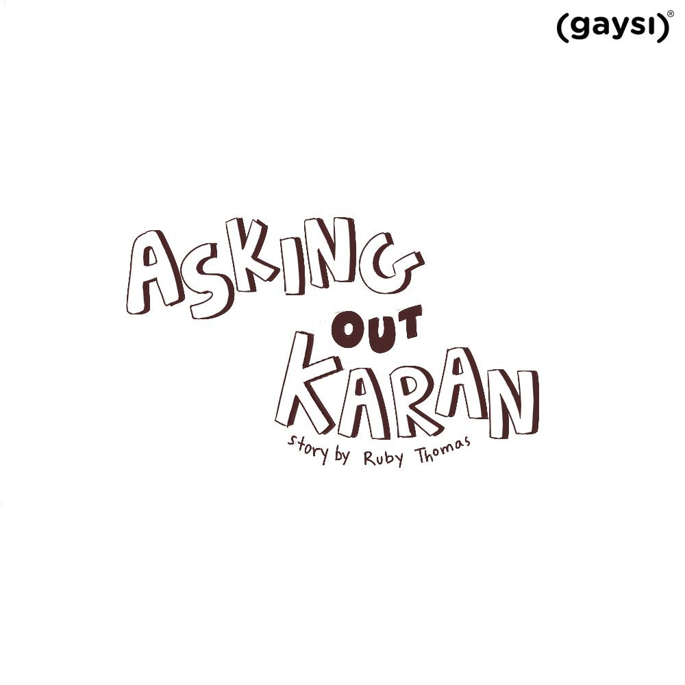 Short Graphic Story: Asking Out Karan