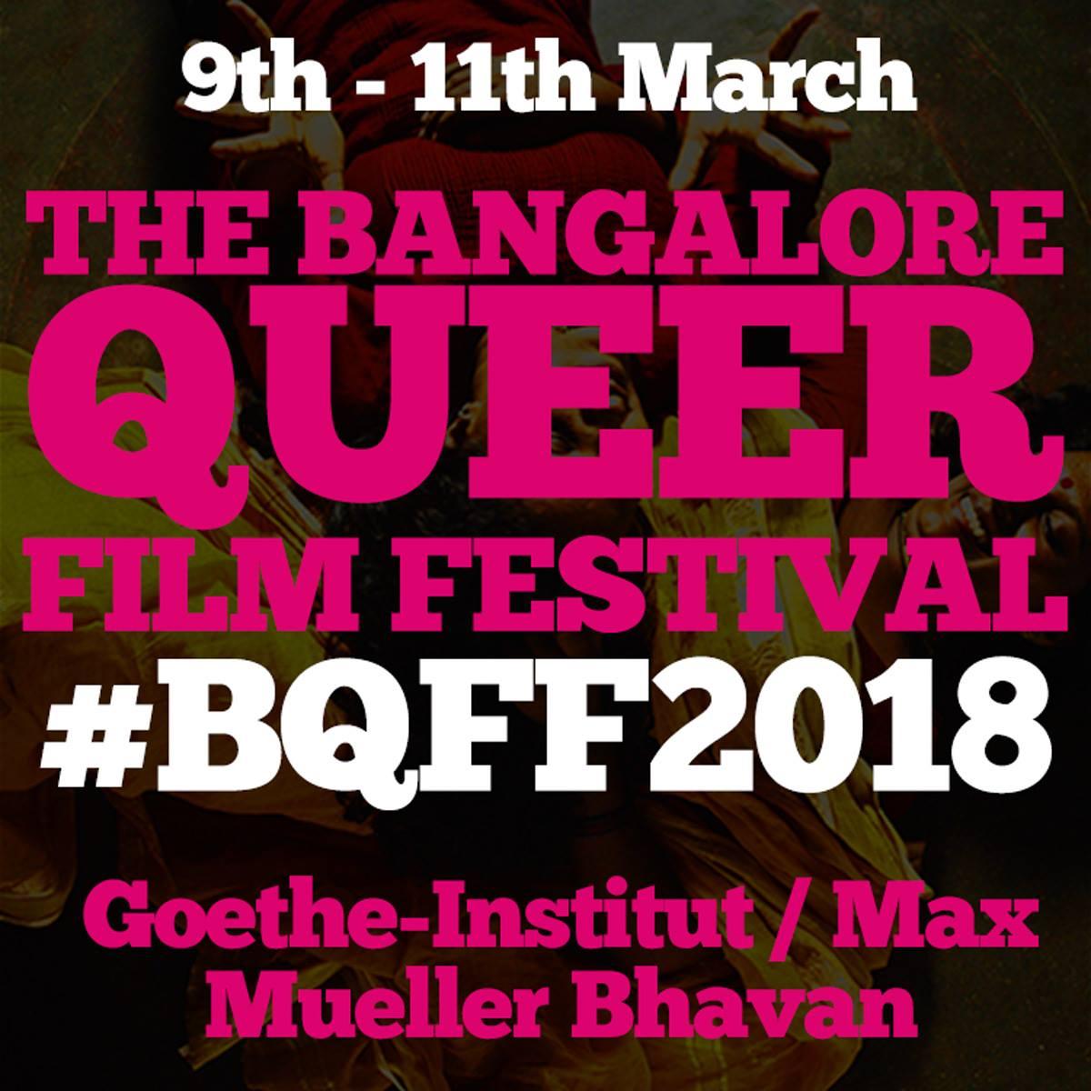 The Bangalore Queer Film Festival 2018: Film Schedule