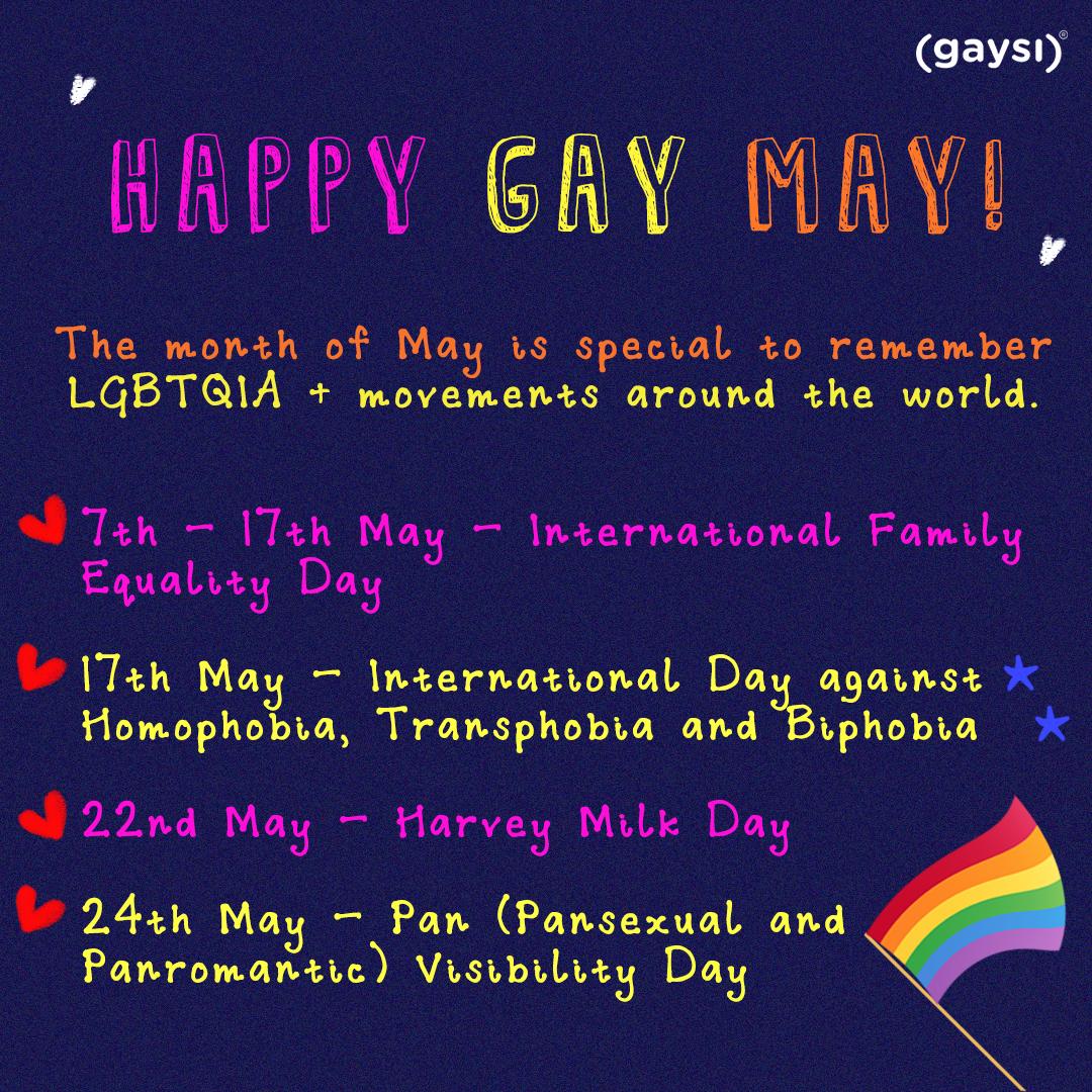 Happy Gay May!