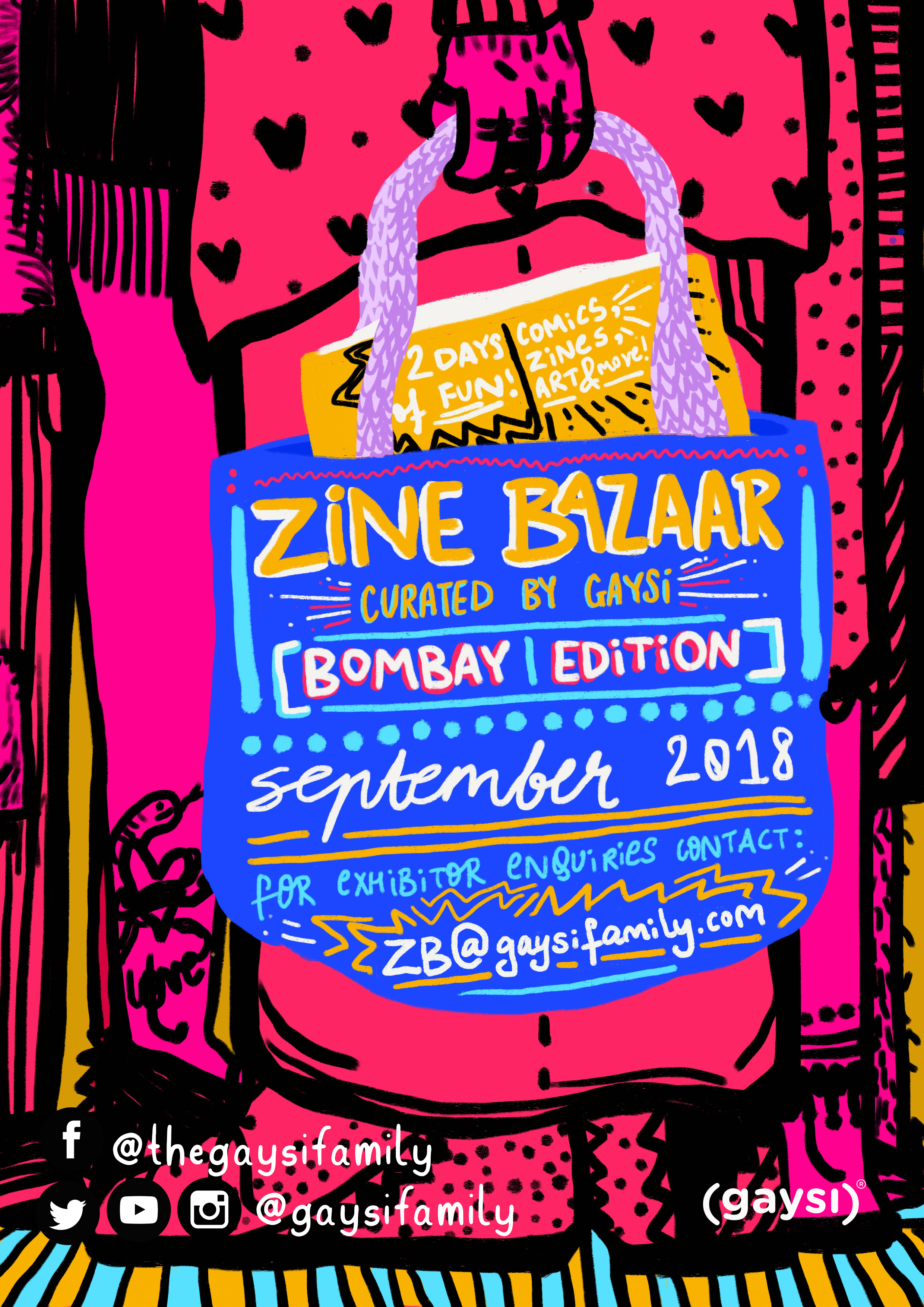 Zine Bazaar (Bombay Edition): Call Out For Exhibitors!