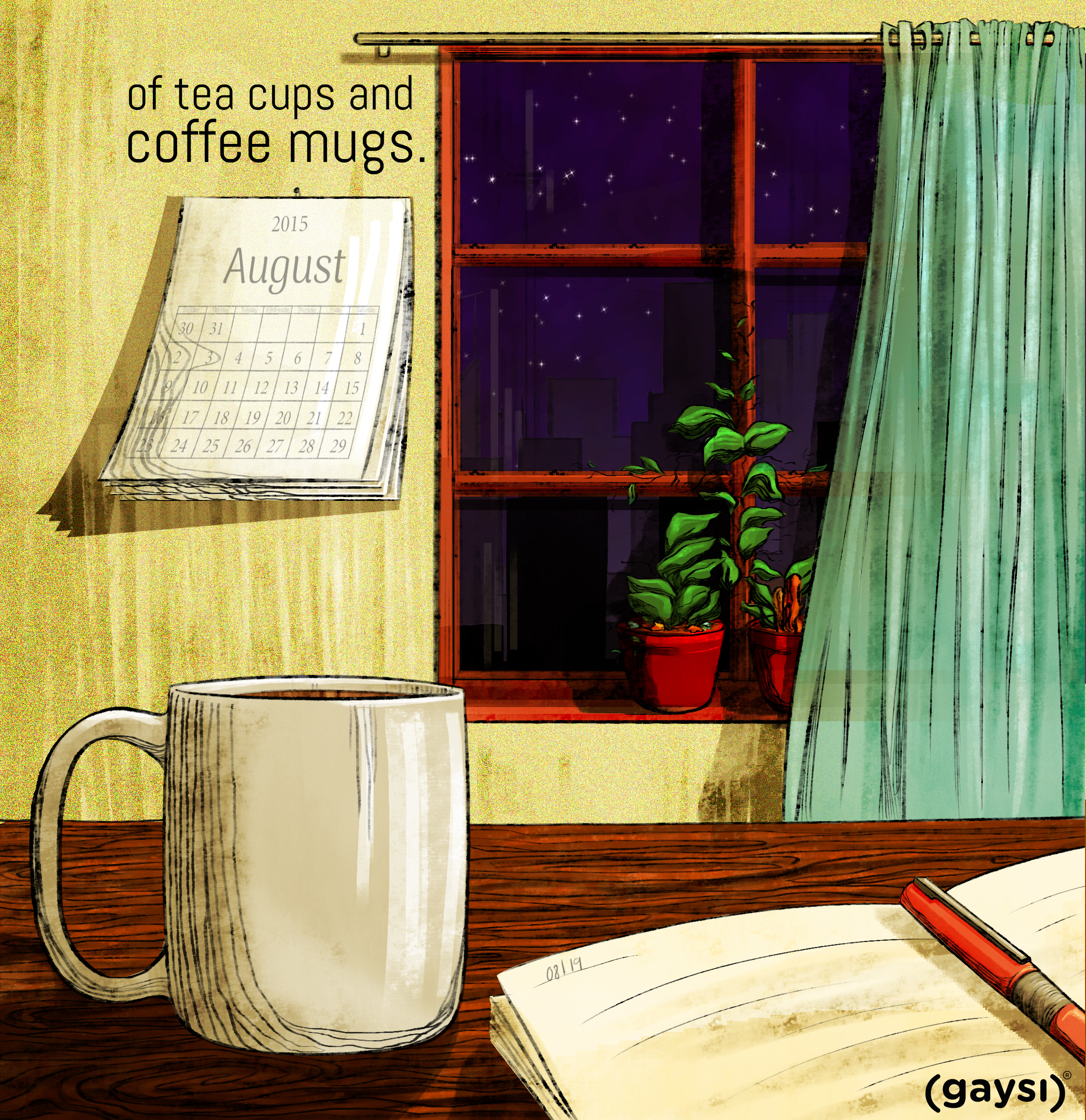 Short Fiction: Of Tea Cups And Coffee Mugs.