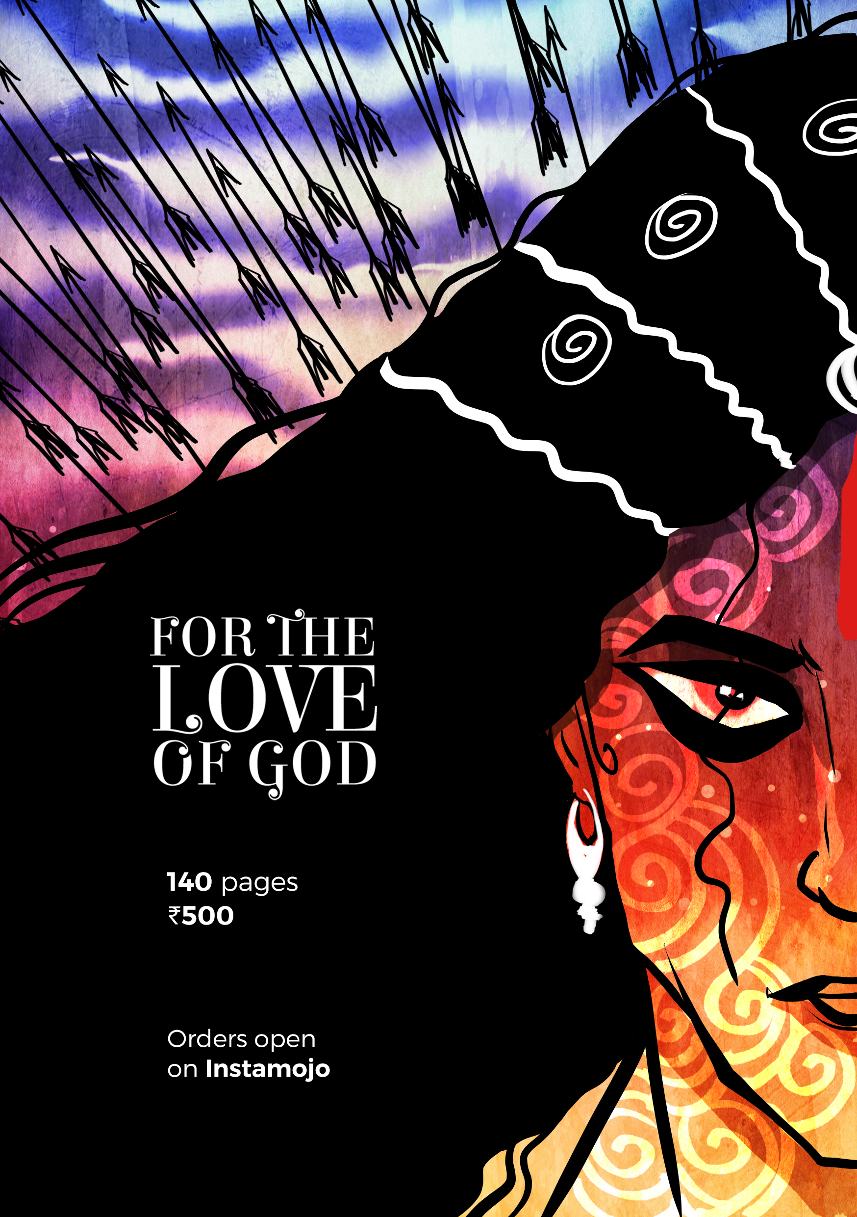 """[Order NOW] Indian Queer Mythology Zine """"For The Love Of God"""""""