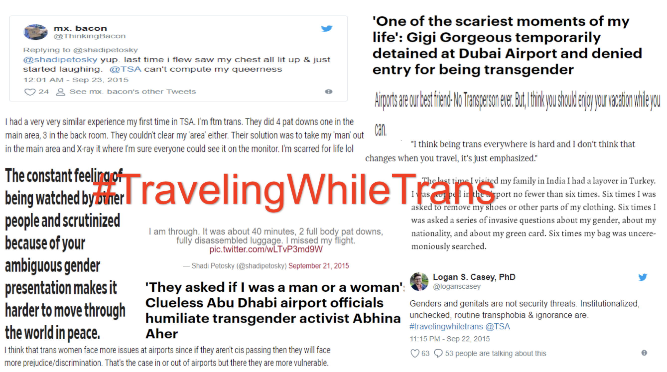 Traveling While Trans