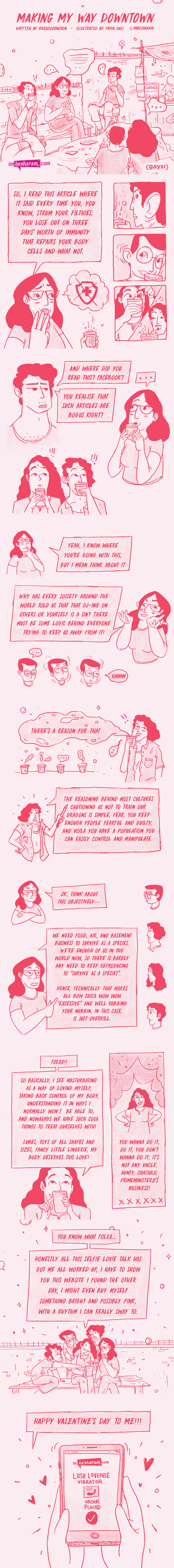 Graphic Story: Making My Way Downtown