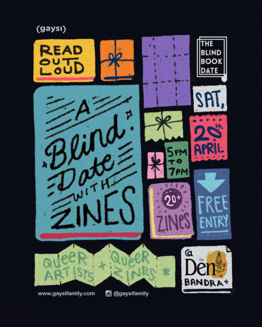 A Blind Date With Zines On 20th April At The Den